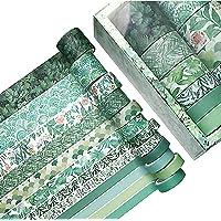 Chingde Washi Tape, 12 Rollen Decoratieve Tape Brede Washi Tape Sets Plakboek Washi Masking Tape Rol voor Plakboeken…
