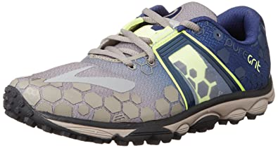 859e53844a0 Brooks PureGrit 4 Trail Running Shoe - Men s Driftwood Blueprint Nightlife  10.5