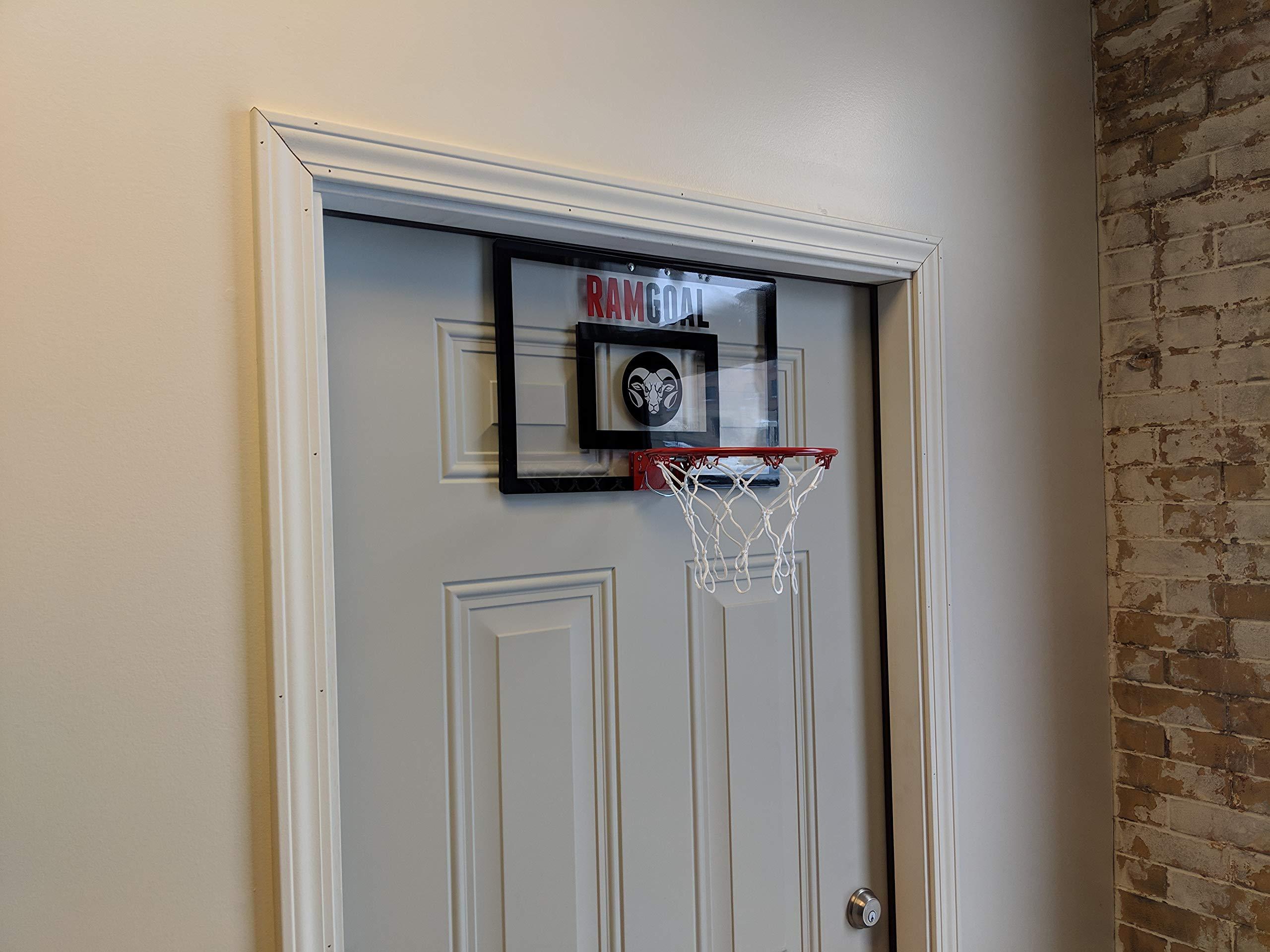 RAMgoal Mini Basketball Hoop Door Mounted