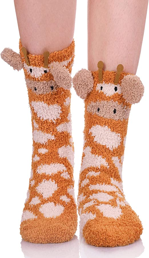 Next Cosy Bed Socks Ladies 1 Pair Gift Boxed Dog Animal One Size Quality