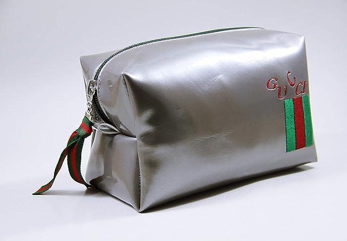 0bcfd9cc2b3 Amazon.com  Inspired Gucci Monogram Cosmetic Bag
