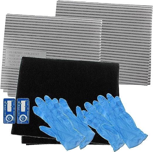 Spares2go campana extractora carbono filtro de grasa completo Kit para Fagor completo Cocina Extractor Ventilación: Amazon.es: Hogar