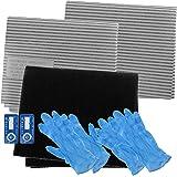 Spares2go cappa aspirante carbonio filtro Grasso Kit Completo per Rainox  completo casa Ventilatore di estrazione di 0884cc6a0441