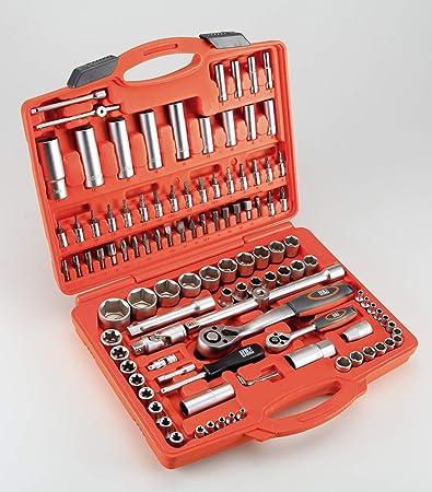 HR 192393 Llaves de Vaso Juego 110 Piezas: Amazon.es: Bricolaje y herramientas