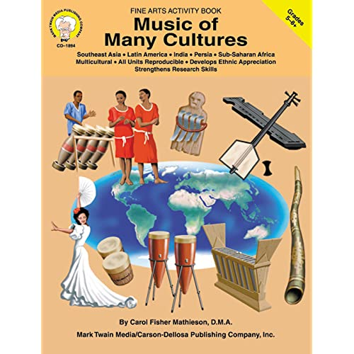 Mark Twain | Music of Many Cultures Workbook | Grades 5–8, Printable