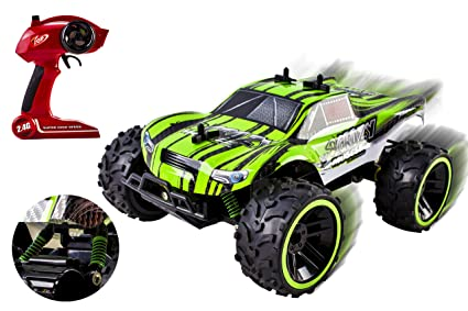 Amazon Com Speed Muscle Remote Control Rc Buggy 2 4ghz 1 16 Scale