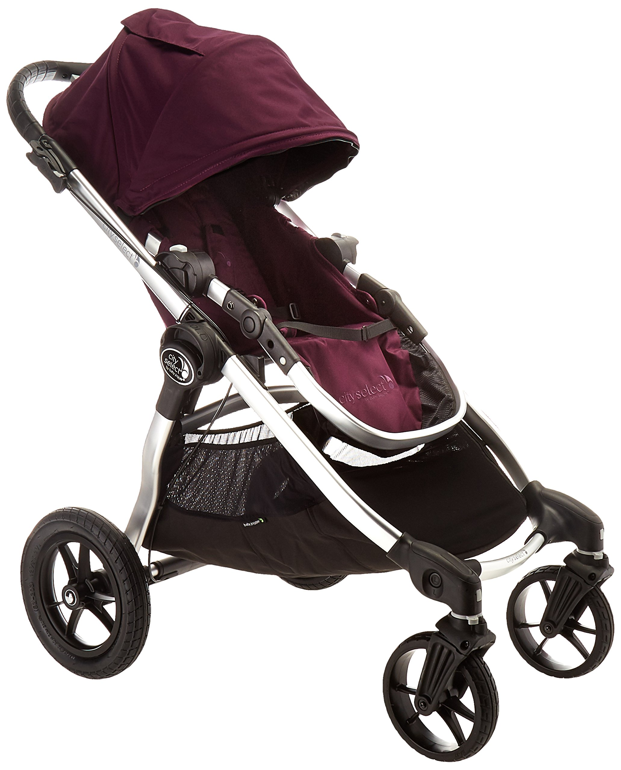 Amazon Com Baby Jogger City Select Silver Frame Second