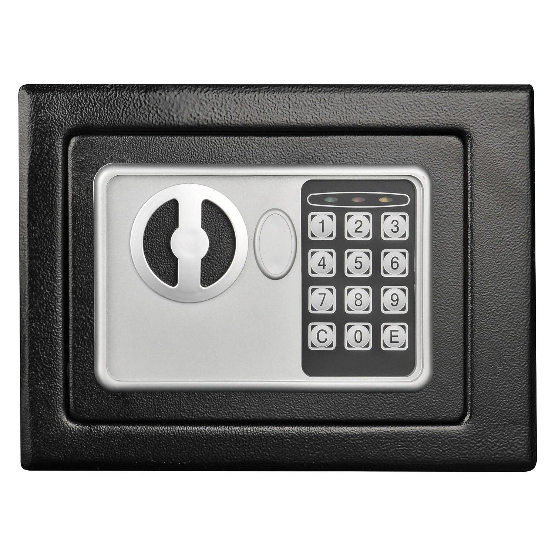 Stalwart 65-E17-B Electronic Deluxe Digital Steel Safe, Black