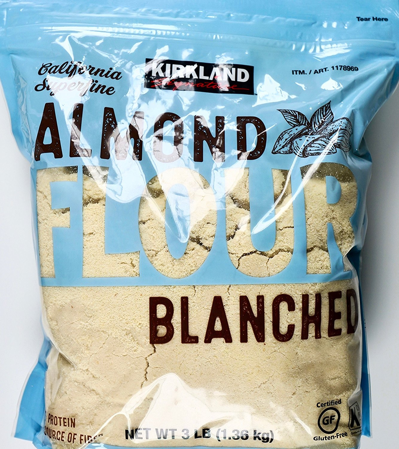Amazon.com : Kirkland Signature Almond Flour Blanched California ...