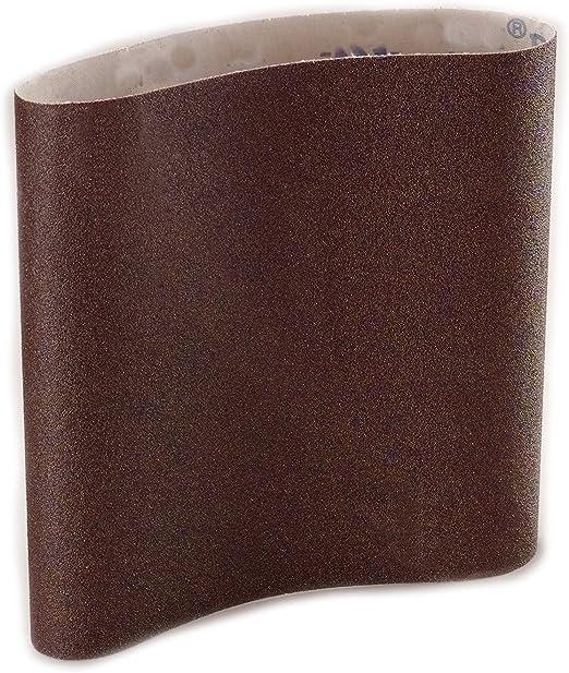 """10 Pack 8/"""" x 19/"""" EZ8 Expandable Drum Floor Sander Sanding Belts A//O 120 Grit"""