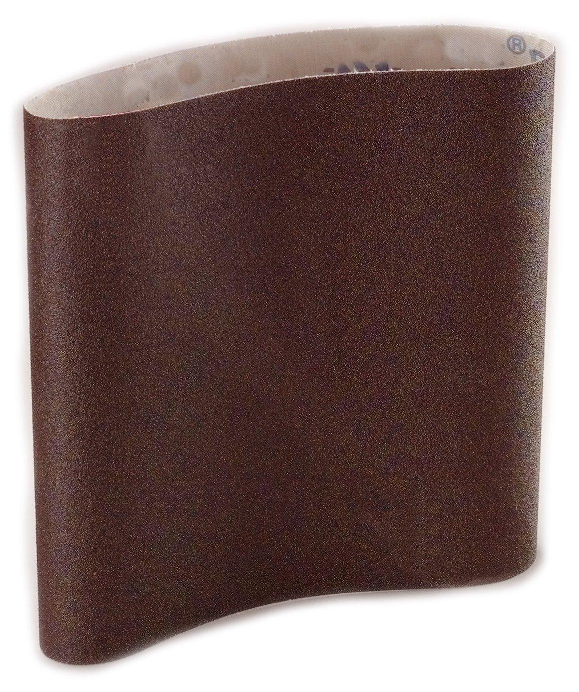 """Sungold Abrasives 87962 Aluminum Oxide Cloth 36 Grit EZ8 Floor Sanding Belts (10/Pack), 8""""X19"""""""