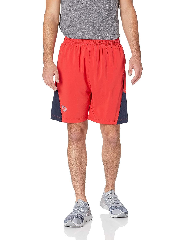 Baleaf Men's 7 Quick Dry Workout Running Shorts Mesh Liner Zip Pockets