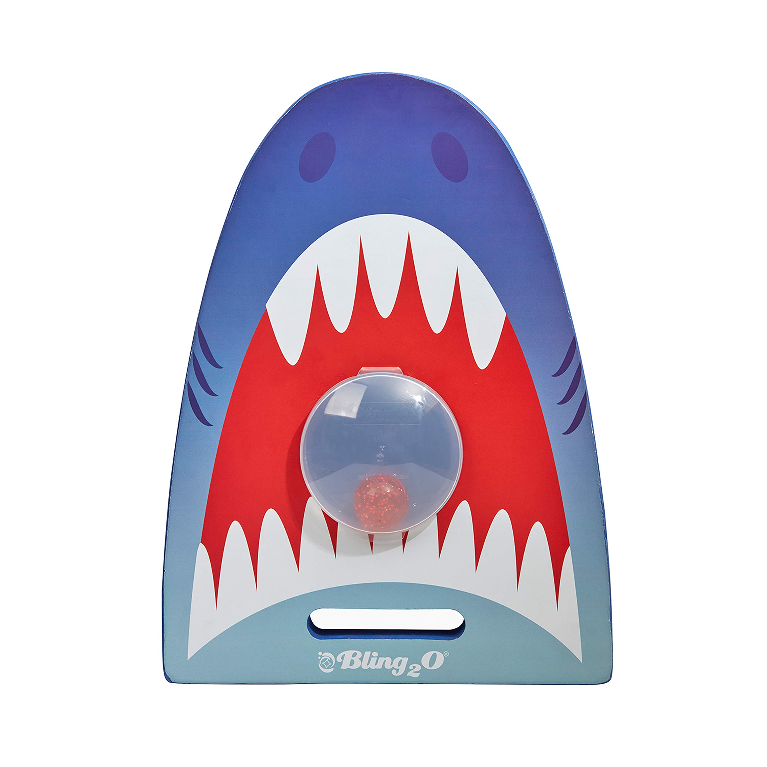 Shark Kickboard for Kids by Bling2O Includes Bonus Dive Toy - Great for Swim Lessons (Blue Tip Shark)