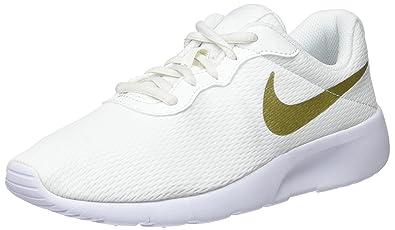 quality design 37402 a3839 Nike Jungen Tanjun (BG) Gymnastikschuhe Beige (Summit WhiteMTLC Gold Star