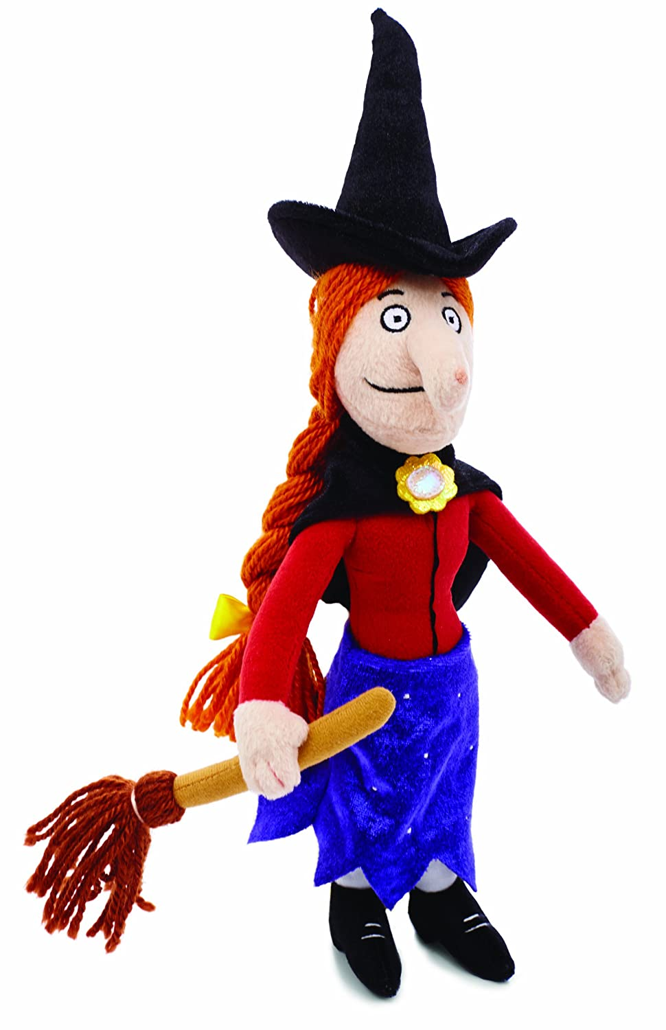 amazoncom room on the broom witch plush animal toys baby - Witch Pictures For Kids