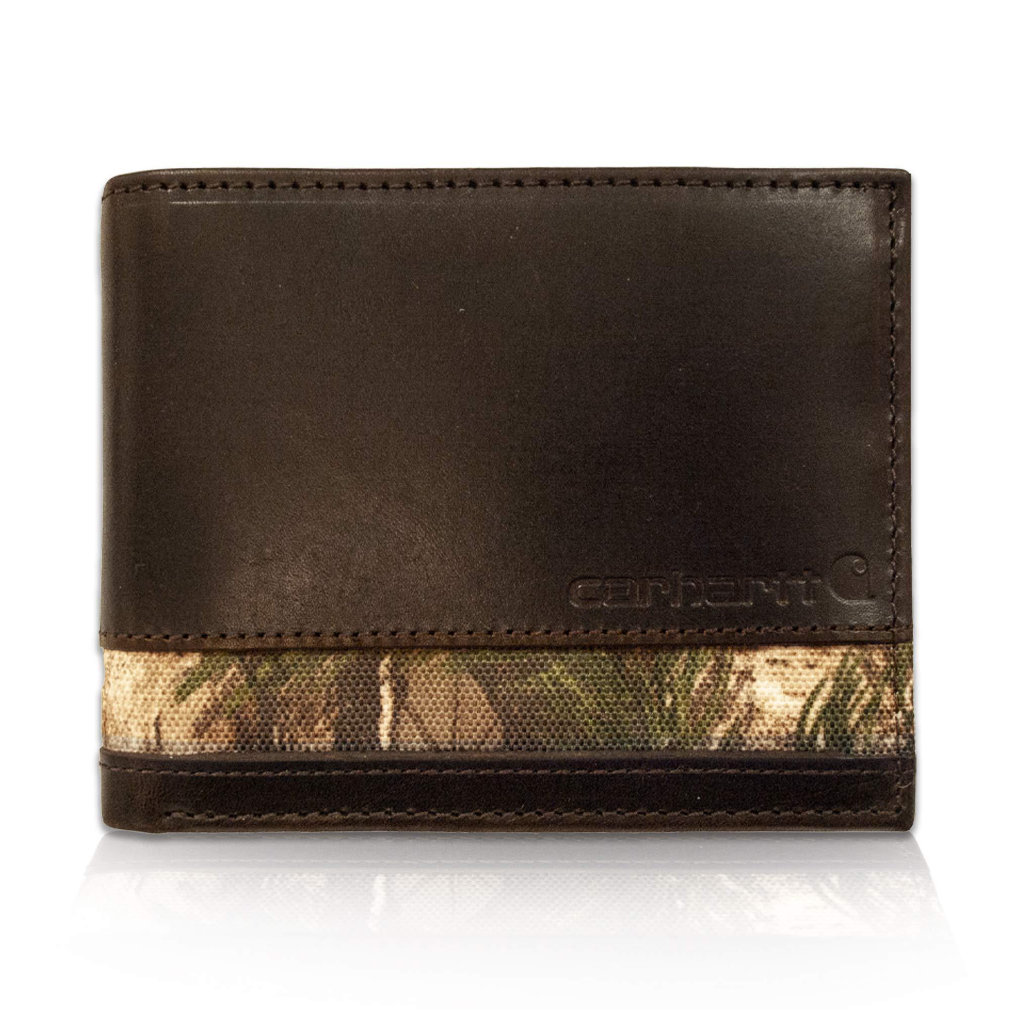 Carhartt Men's Billfold Wallet, sandoken Brown One Size