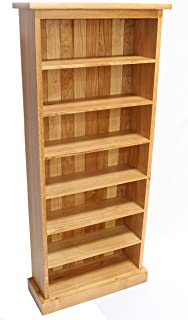 CD Storage Rack Tower Oak Triple Holds 280 CDu0027S