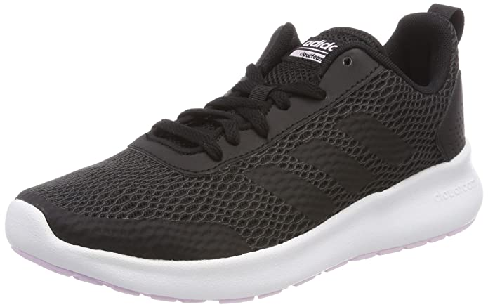 Amazon.com | adidas Women Shoes Running Essentials Element Race Training Black Gym DB1481 | Road Running