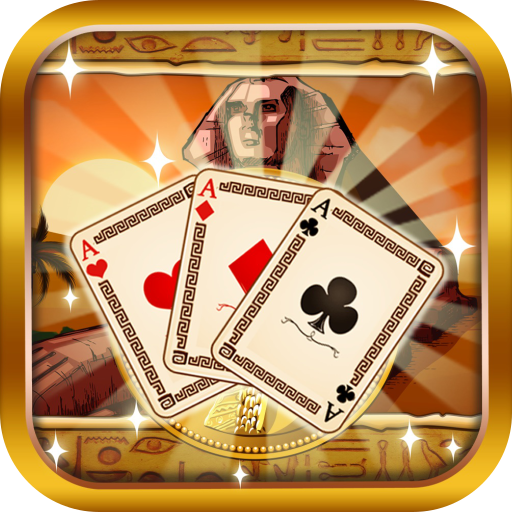 Ancient Egypt Tri Peaks Pyramid Solitaire - Pyramid Element