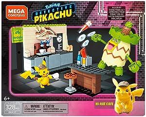 Mega Construx Pokemon Detective Pikachu Hi-Hat Café
