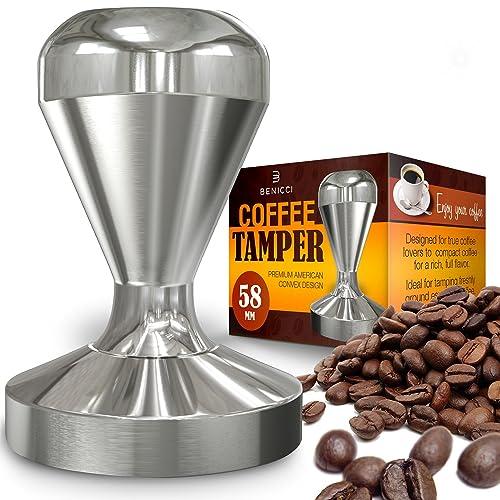 Benicci 58mm Solid Style Espresso Coffee Tamper