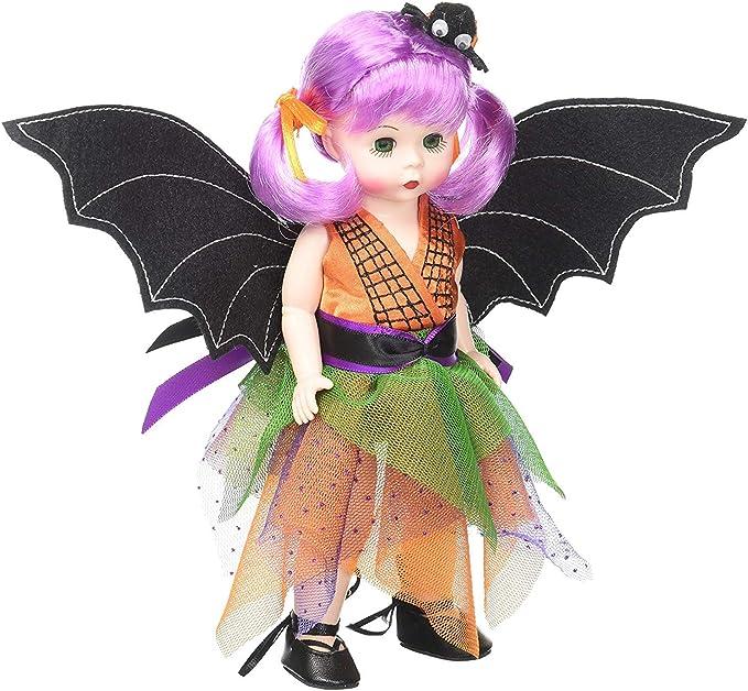"Alexander Boo-tifully Batty Halloween 8"" Doll 72930 wings and headband mint box"