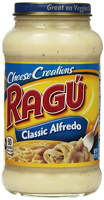 Amazon Com Ragu Cheesy Classic Alfredo Sauce Tomato And Marinara