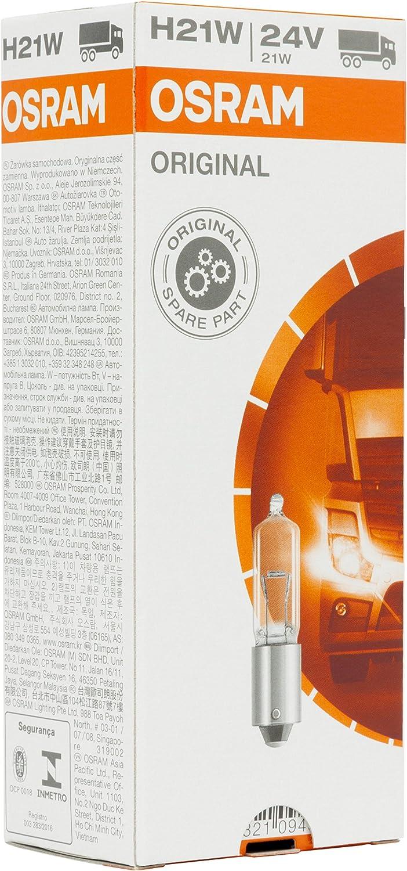 Osram Original 64138 BAY9s 24V 21W H21W