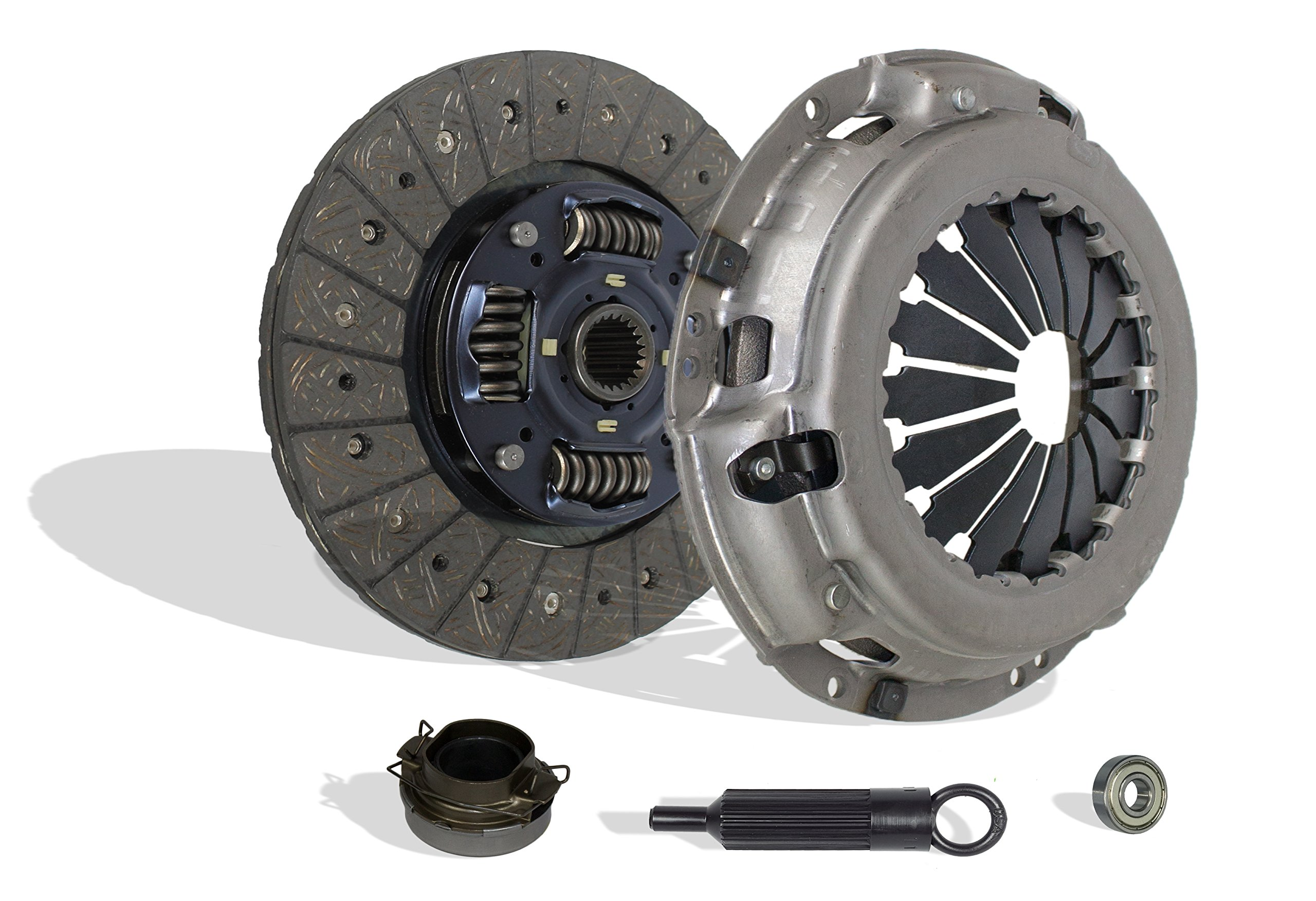 Clutch Kit Works With Toyota Pickup 4Runner T100 Sr5 Dlx Base Cab Pickup 2-Door 1988-1995 3.0L V6 SOHC (2WD; 4WD)