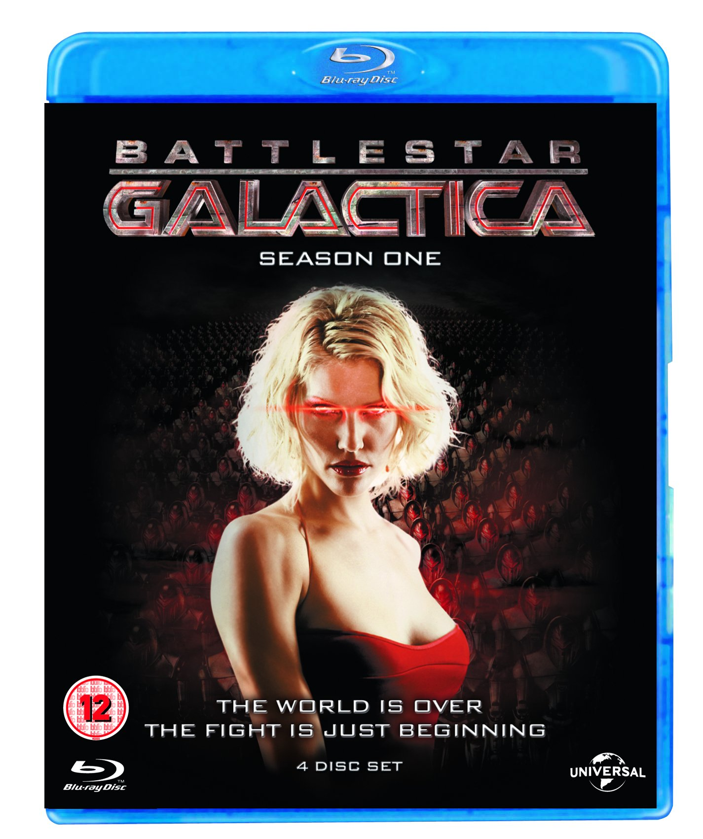 Battlestar Galactica : Season 1 [Blu-ray] by Imports