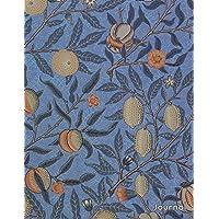 Journal: Beautiful Botanical Vintage Art Nouveau Print | 150 College-ruled Pages | 8.5 x 11 - A4 Size (Vintage Floral Designs)