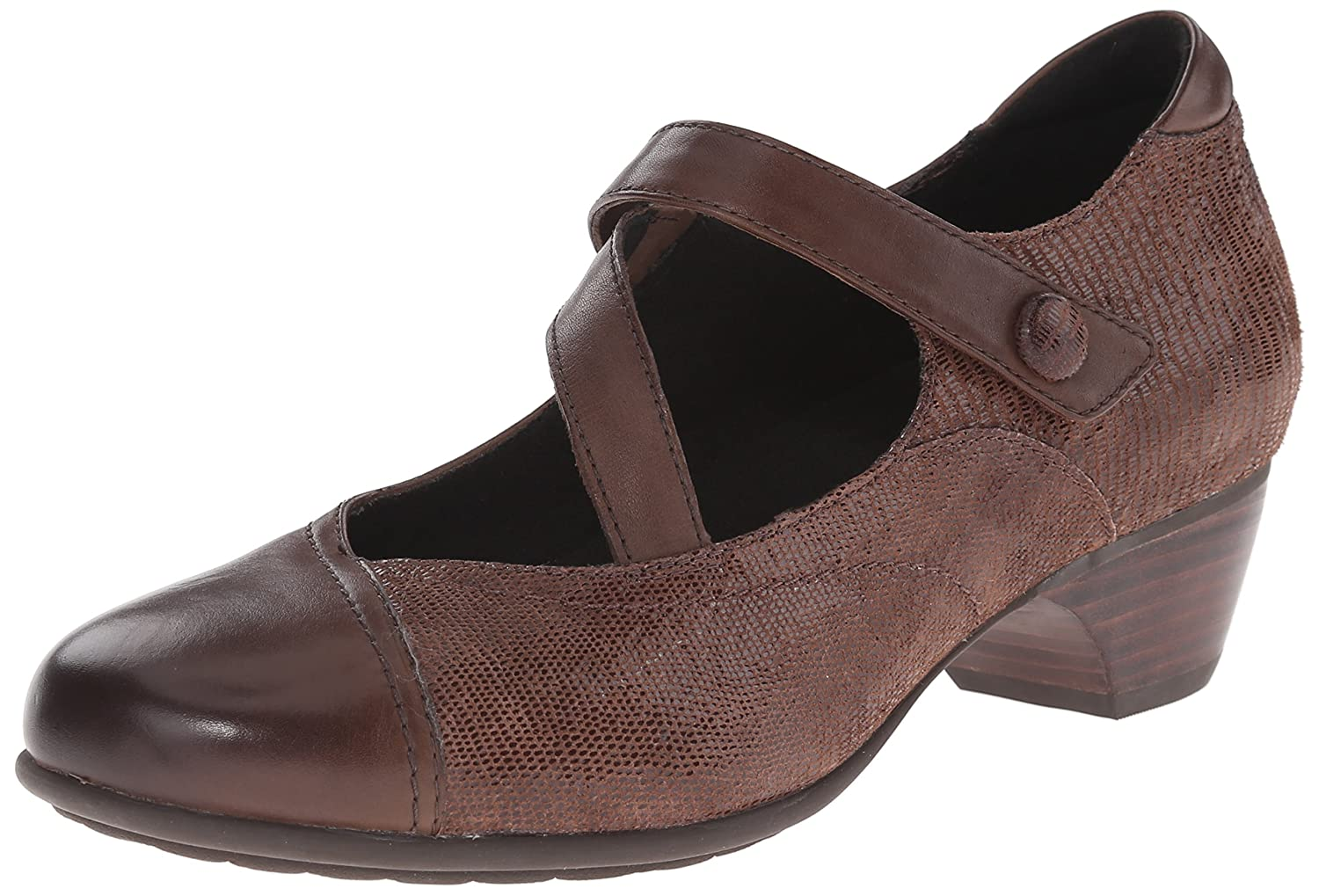 Aravon Women's Portia - AR Dress Pump B00UU3TLYS 11 D US|Brown/Multi