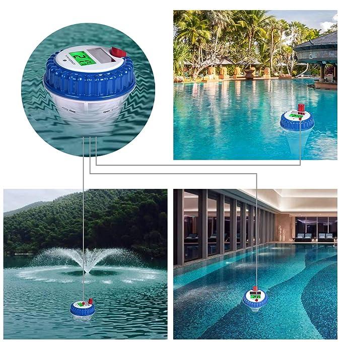 Amazon.com: Yowosmart - Termómetro de piscina profesional ...
