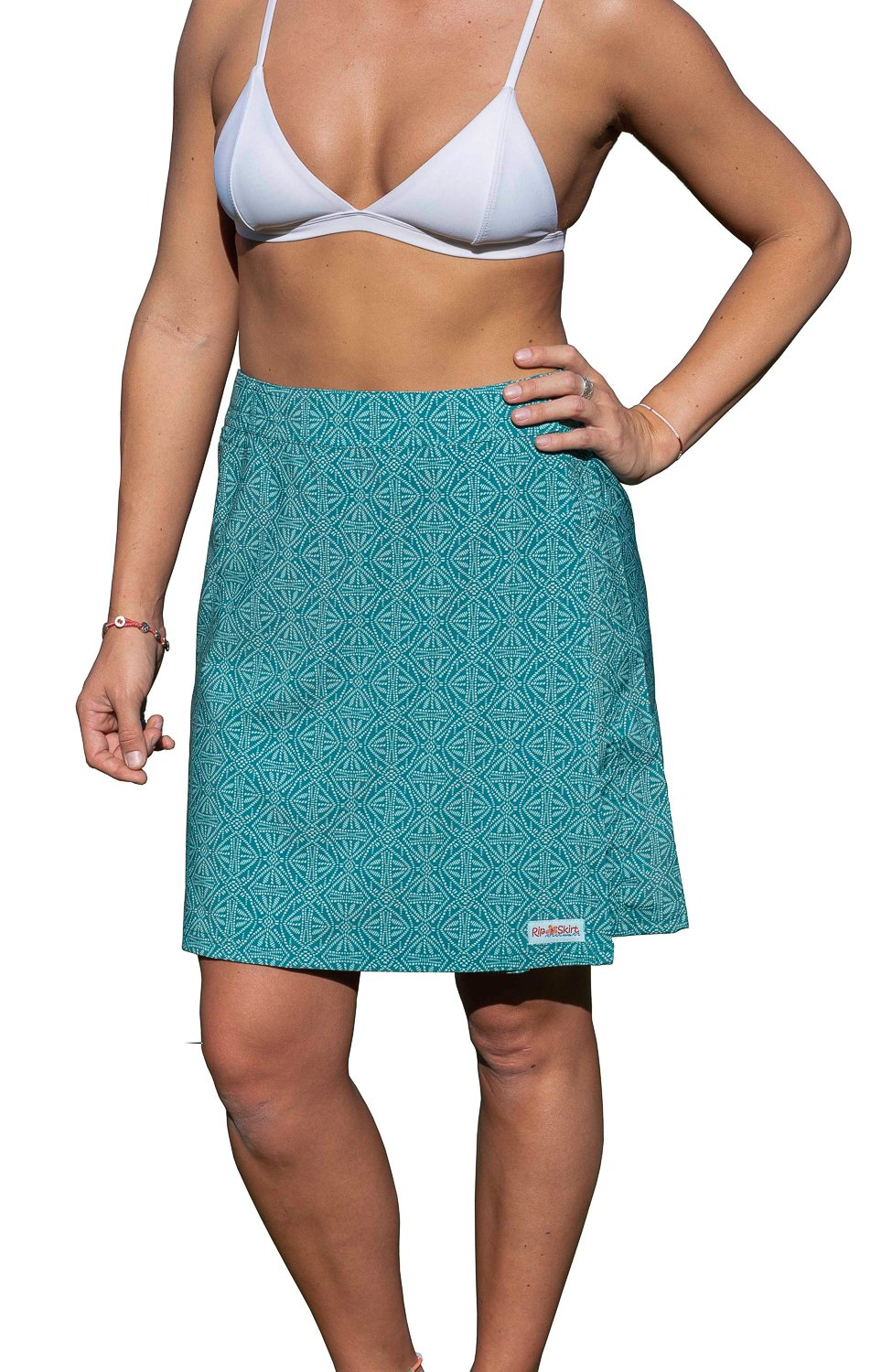 RipSkirt Hawaii - Length 2 - Quick Wrap Cover-up That Multitasks as The Perfect Travel/Summer Skirt