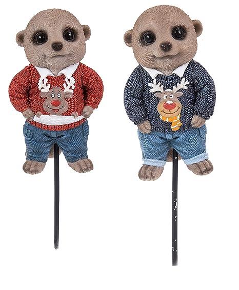 Garden Ornament//Decoration//Gift Baby Meerkat Zoo Pet Pal Vivid Arts