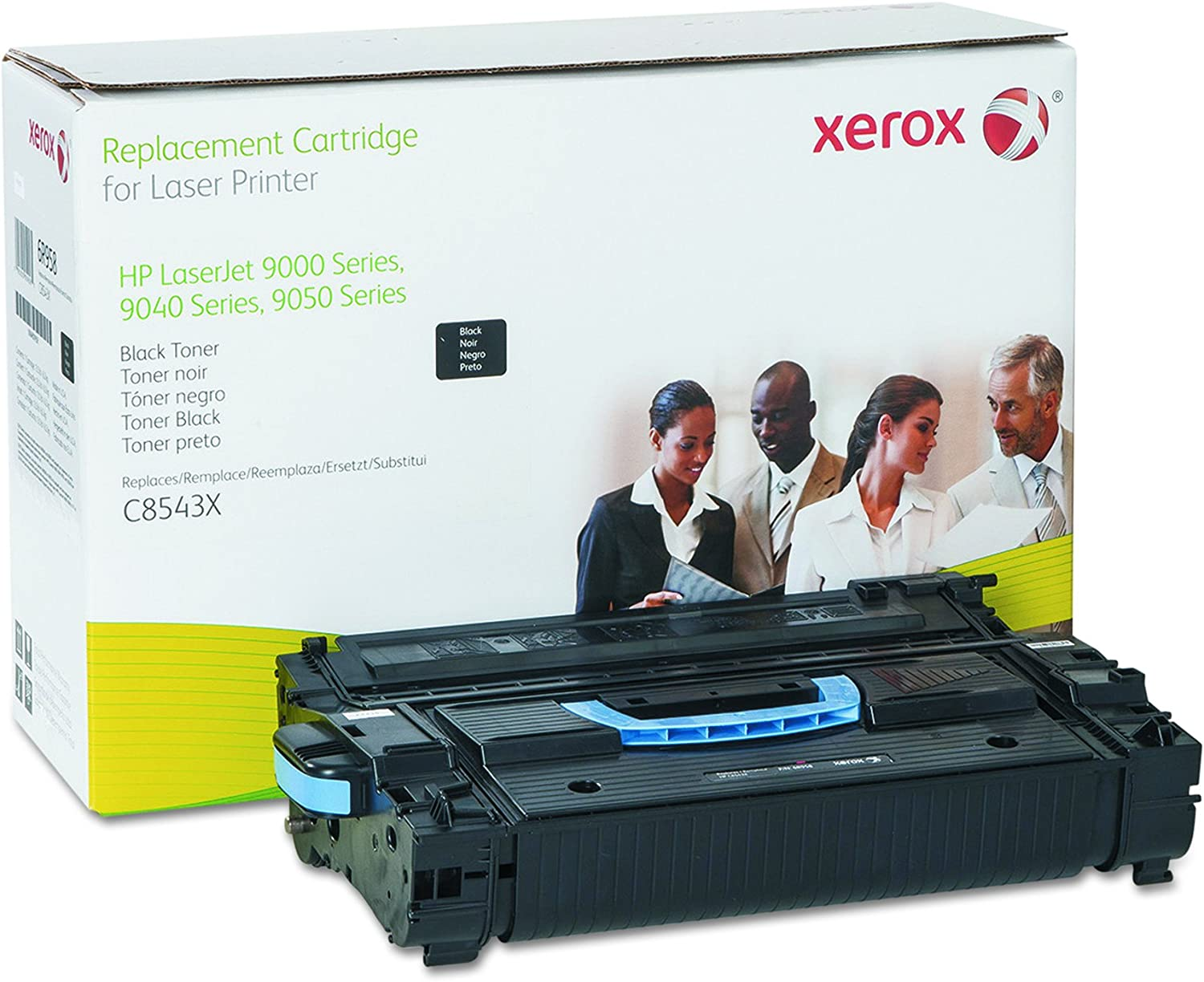 Genuine Xerox Replacement Toner Cartridge for the HP LaserJet 9000 Series, 9050 Series, 9040 series, M9040, M9050 (C8543X), 6R958