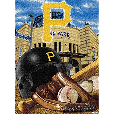 MAXFYOU Wood Puzzle 500 Piece - Jigsaw Puzzle for Adult and Kids - American Baseball Teams Wooden Puzzle.3ML-PT05-G22: Toys & Games