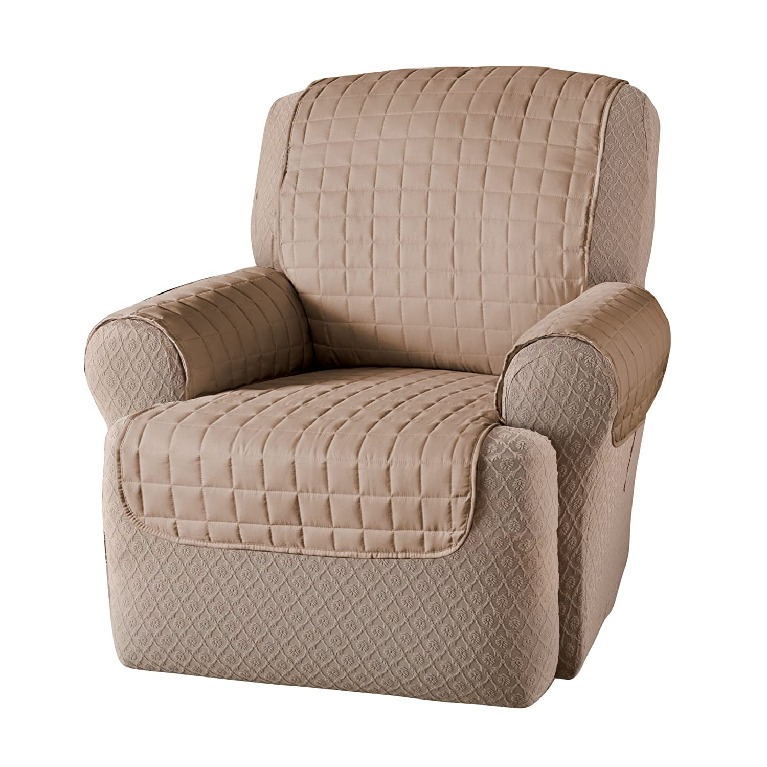 Amazon Innovative Textile Solutions Microfiber Wing Recliner