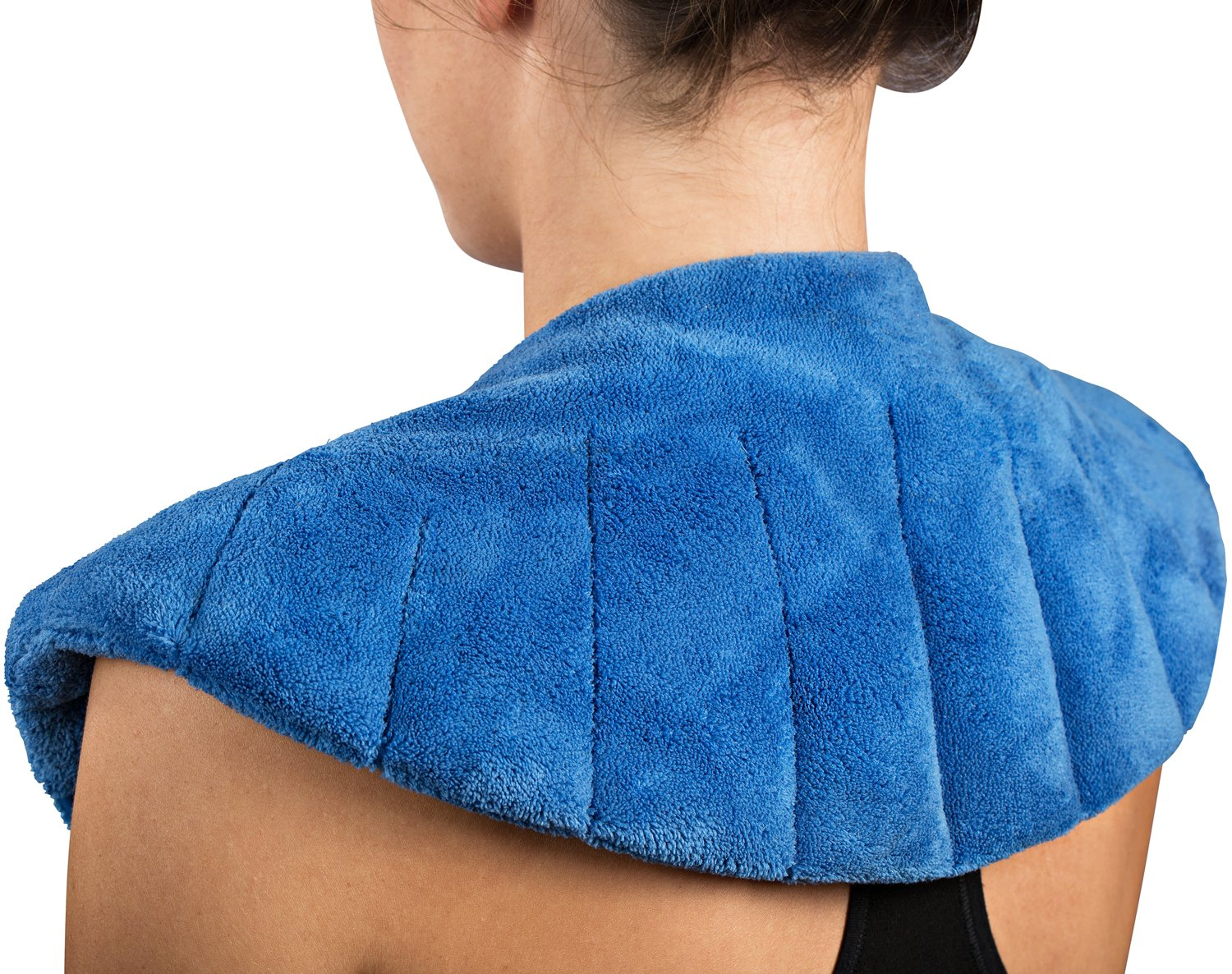 NatraCure Warming Shoulder and Body Wrap - 410-CAT- (w/ Rice Filling)