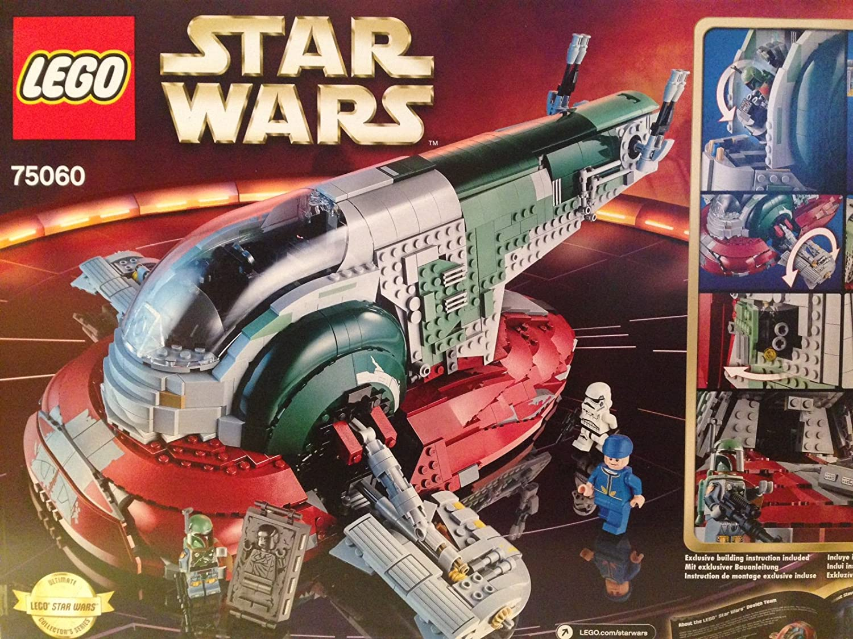 Amazon Lego Star Wars Boba Fett Slave 1 Ucs Set 75060 Cell