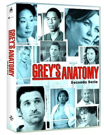 grey\'s anatomy - season 02 8 dvd box set DVD Italian Import: Amazon ...
