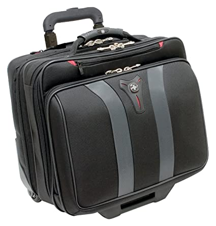 12d0b3ffa00e Amazon.com  Swissgear Granada Rolling Case Nylon for Upto 17-Inch ...