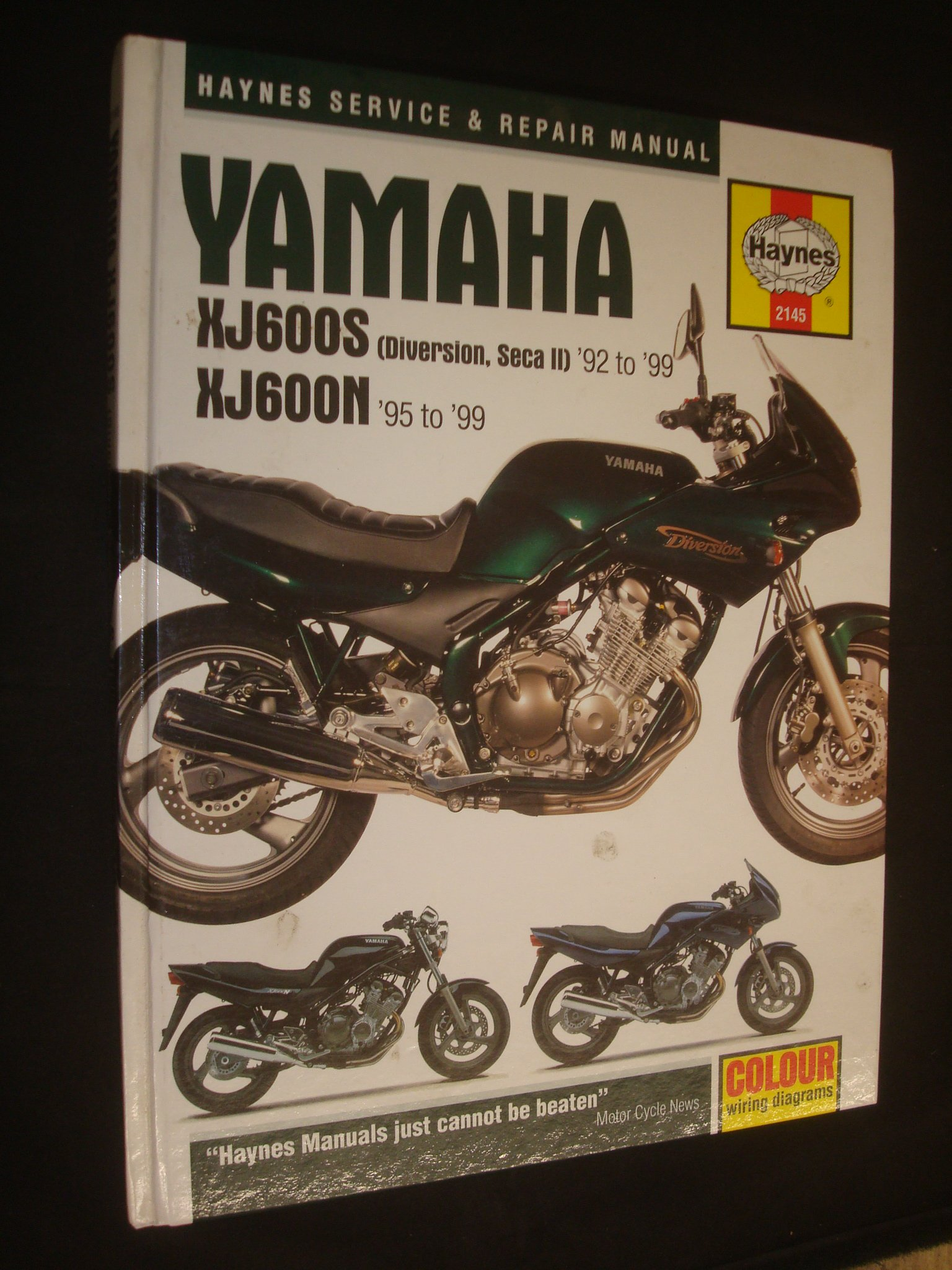 Yamaha XJ600S (Seca II, Diversion) and XJ600N (Haynes Service and Repair  Manuals): Alan Ahlstrand, J. H. Haynes: 9781859605516: Amazon.com: Books