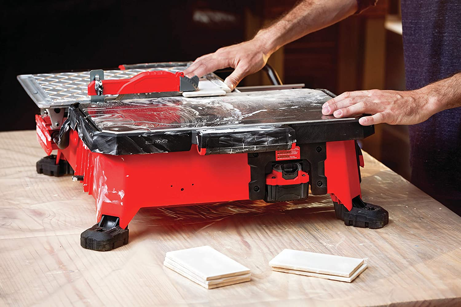 Craftsman 20V Max table saw with compact sliding