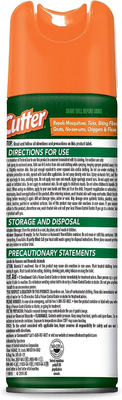 Cutter Backwoods Insect Repellent Aerosol 6 oz: Garden & Outdoor