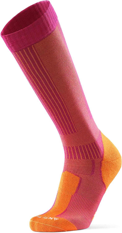 Calcetines Térmicos de Senderismo de Lana Merina Anti-Garrapatas, para Hombre, Mujer y Niños, Calcetines con Repelente para Mosquitos y Garrapatas, Anti-rozaduras, Transpirables pack de 1