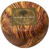 Naturally Med Olive Wood Sugar Pot/Salt Keeper