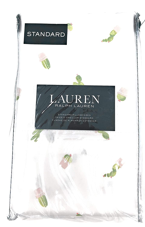 Amazon.com: R&L Ralph Lauren Two Standard Pillowcase Pattern ...