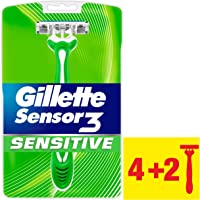 Gillette Sensor3 Sensitive Einwegrasierer 4+2 Packung
