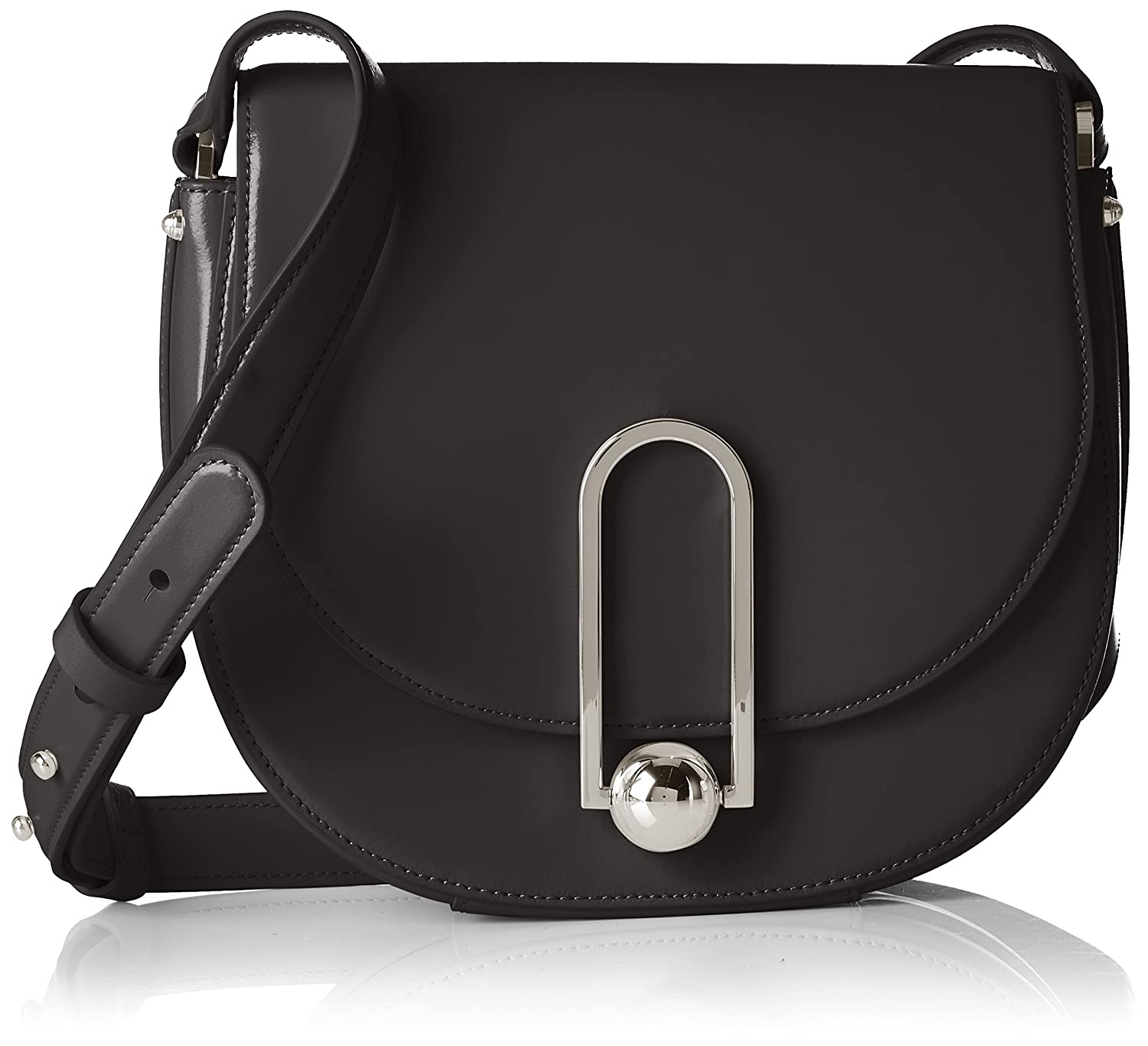 HUGO Women/'s Uptown Saddle Bag Shoulder Bag